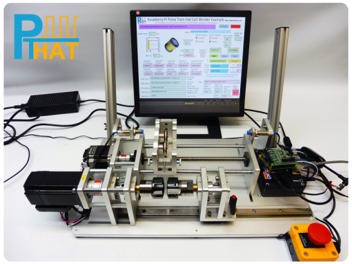 PTHAT controlling a Coil Winding Machine using Instant Commands