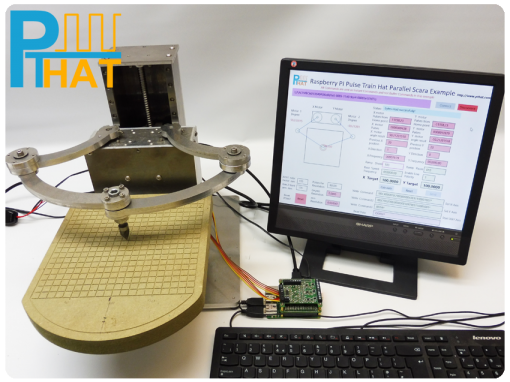 PTHAT controlling Parallel Scara Robot Arm using Instant Commands