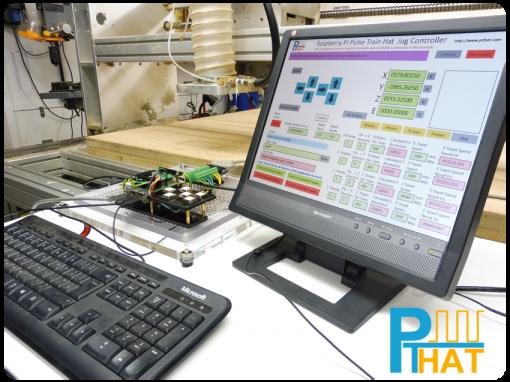 PTHAT Jog Control of a CNC Machine using Instant Commands