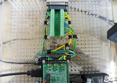 Wiring to the parallel port